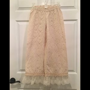 Persnickety Lace Gauchos